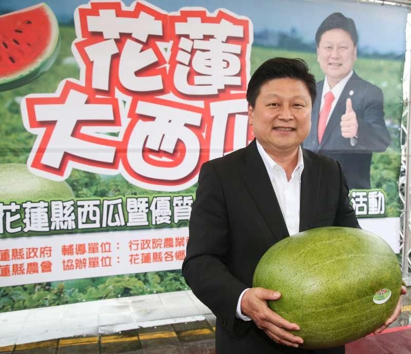 對2018年台北市長選戰,被譽為「後山王」的花蓮縣長傅崐萁表示,「我們不排斥任何種福田的機會」。(陳明仁攝)