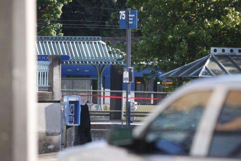 美國奧勒岡州波特蘭發生攻擊案,兇手辱罵一位穆斯林少女遭制止,竟持刀刺死兩名路人。(美聯社)