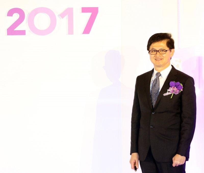 20170530-台北市電腦工會理事長童子賢出席「2017年台北國際電腦展(COMPUTEX 2017)」開幕典禮。(蘇仲泓攝)