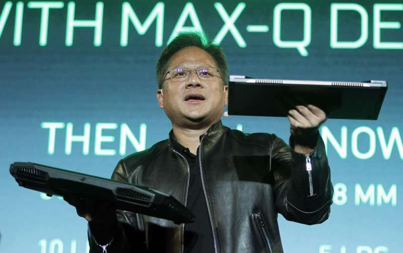 繪圖晶片鉅子NVIDIA的共同創辦人兼執行長黃仁勳(Jensen Huang)(AP)