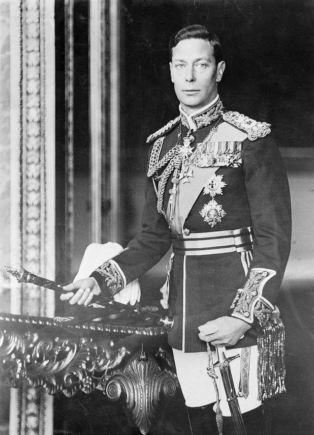 英王喬治六世。(wikipedia/public domain)