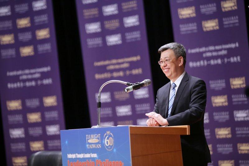 20170602-副總統陳建仁出席「Fulbright領袖論壇:21世紀領導者的挑戰【公平、倫理與全球化】」開幕式,並致詞(總統府提供)