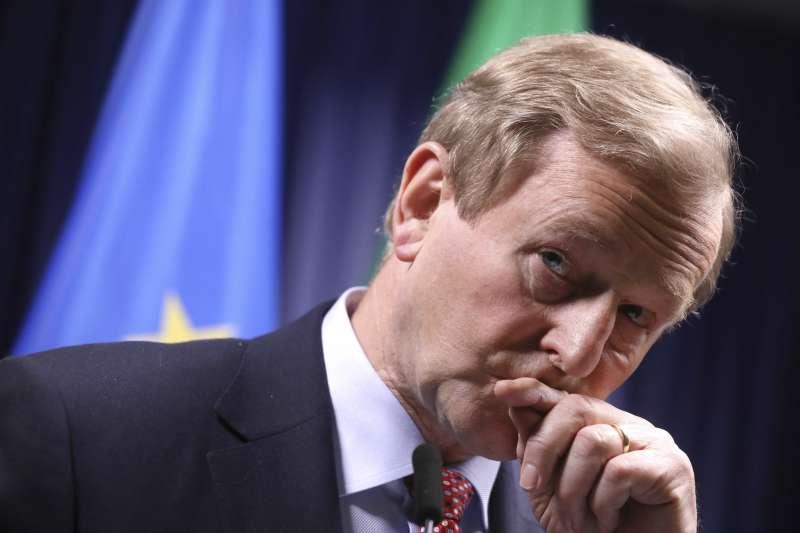 即將卸任的愛爾蘭總理肯尼(Enda Kenny)(AP)