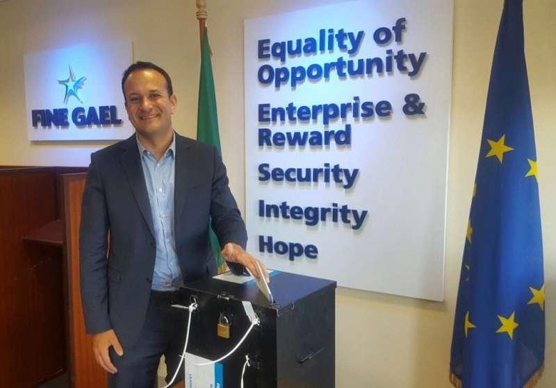 即將出任愛爾蘭總理的瓦拉德卡(Leo Varadkar)(Twitter)