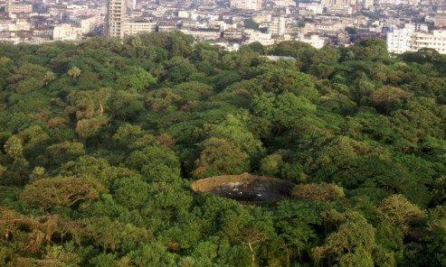 在孟買,有一所依然運作的寂靜塔,位於孟買城邊陲,在一個佔地54英畝的森林裡,非巴斯人不能入內參觀。(圖/Outside提供)