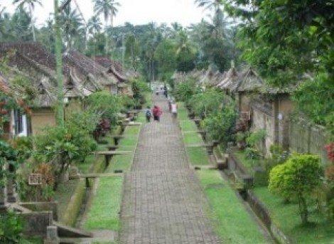 印尼峇里島的吐揚天葬村 (Trunyan)。(圖/Outside提供)