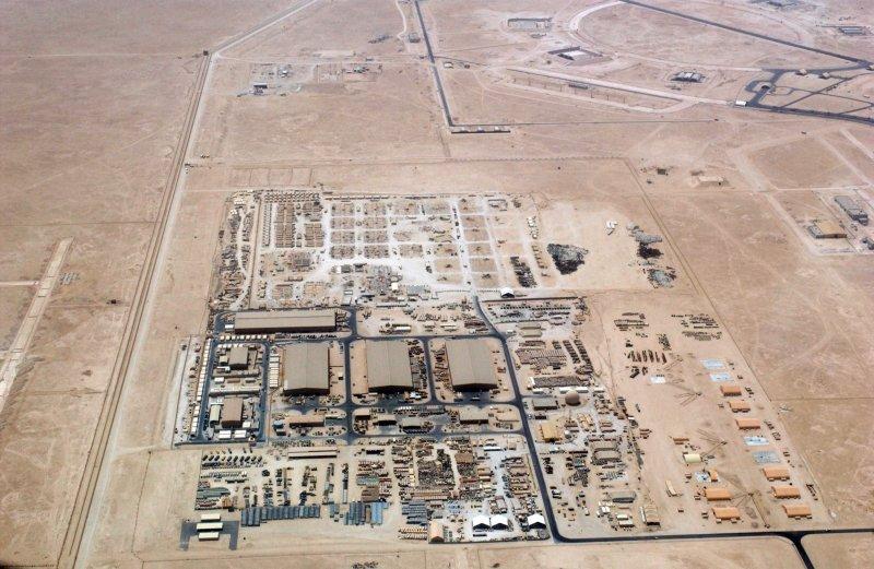 烏代德空軍基地2009年空照圖。(維基百科公有領域)