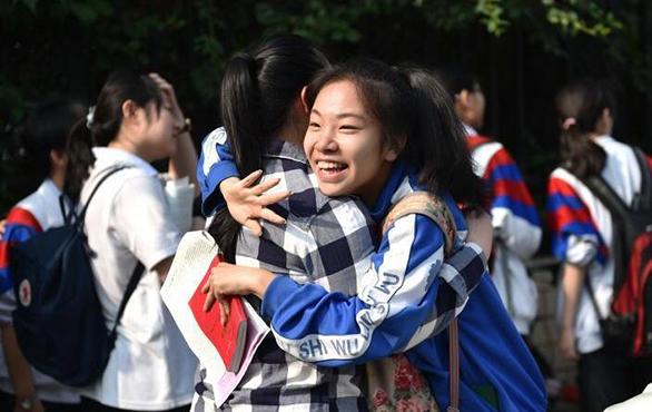 中國迎來一年一度的高考,2017年是新高考元年,上海浙江率先採用新制。(新華社)
