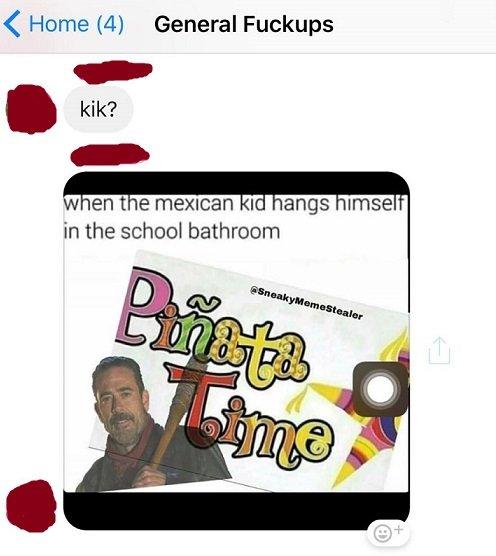 哈佛大學準新生在臉書聊天室嘲諷上吊自殺的墨西哥小孩(取自網路)
