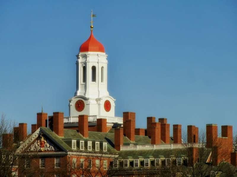 美國哈佛大學(取自Pixabay)