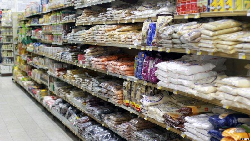 卡達多哈的一家超級市場。(美國之音)