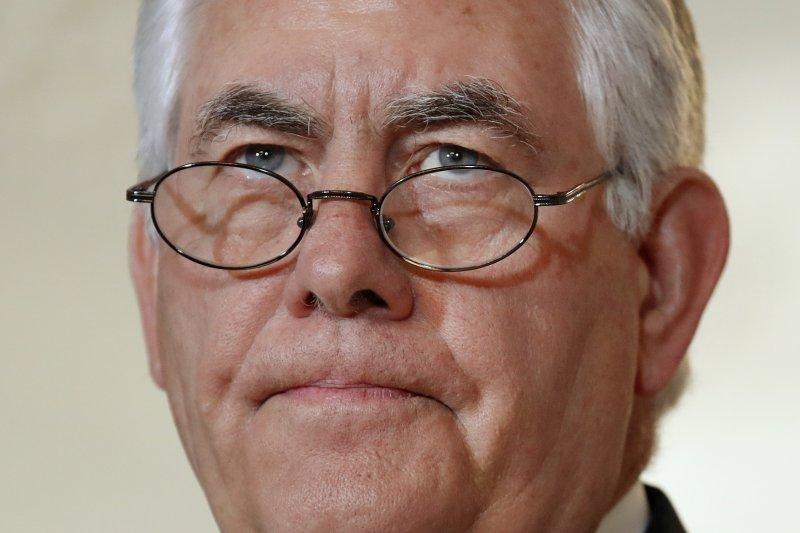 美國國務卿提勒森說,希望斷交風波不再擴大。(美聯社)