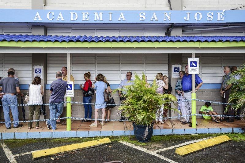 波多黎各舉行第五次建州公投,投票率創新低,只有23%。(美聯社)