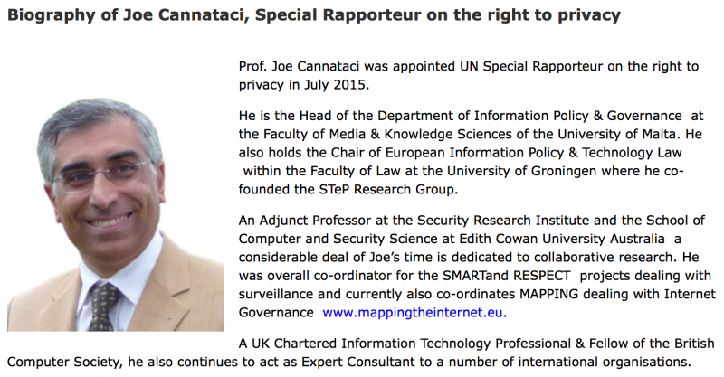 聯合國人權調查專員卡納塔西。(聯合國官網)
