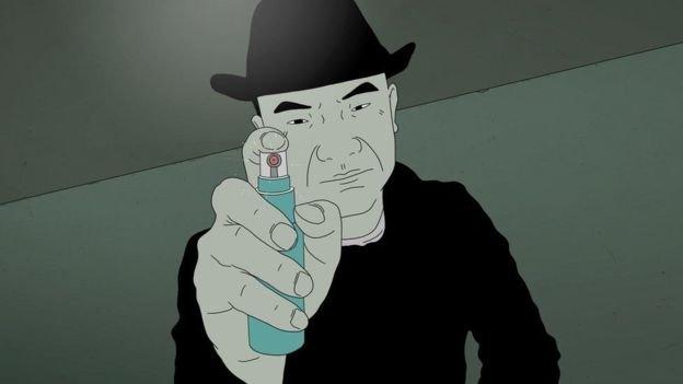 中國動畫《好極了》,法國安錫國際動畫影展。(BBC中文網)