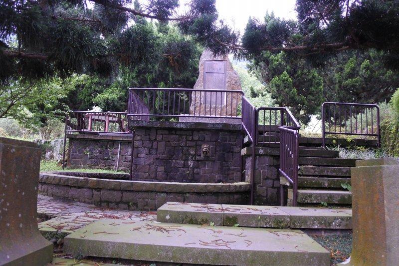 陽明公園李氏紀念碑(圖由台北市政府提供)