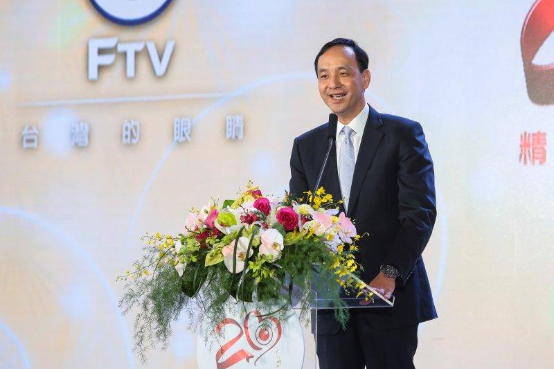 20170616-新北市長朱立倫16日出席「民視20周年系列活動」。(顏麟宇攝)