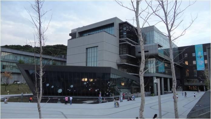 國立海洋科技博物館 碧水巷廣場