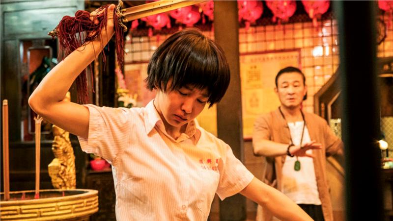 台灣偶爾有令人驚豔的電視作品,但大多節目還是讓人感到失望(圖 / 翻攝自通靈少女官方網站)