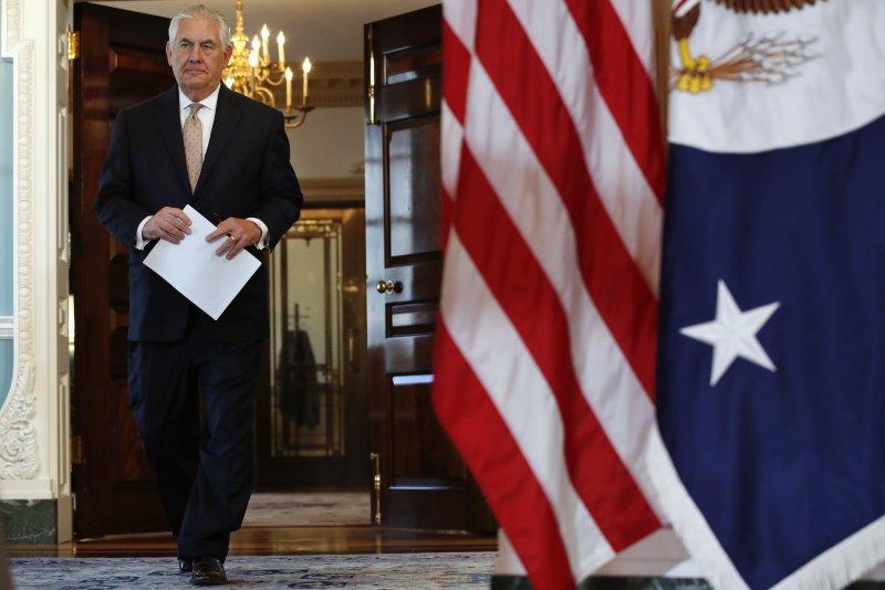 美國國務卿提勒森。(美聯社)
