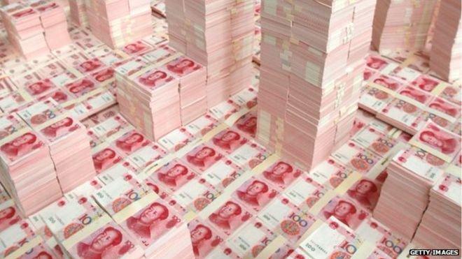 《2017中國私人財富報告》把擁有可投資資產1千萬元人民幣列為成為中國高淨值人士的基本條件。(BBC中文網)