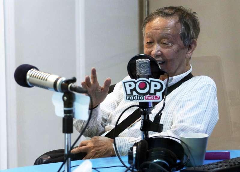 20170621-清華大學榮譽講座教授李家同上午接受電台專訪。(蘇仲泓攝)