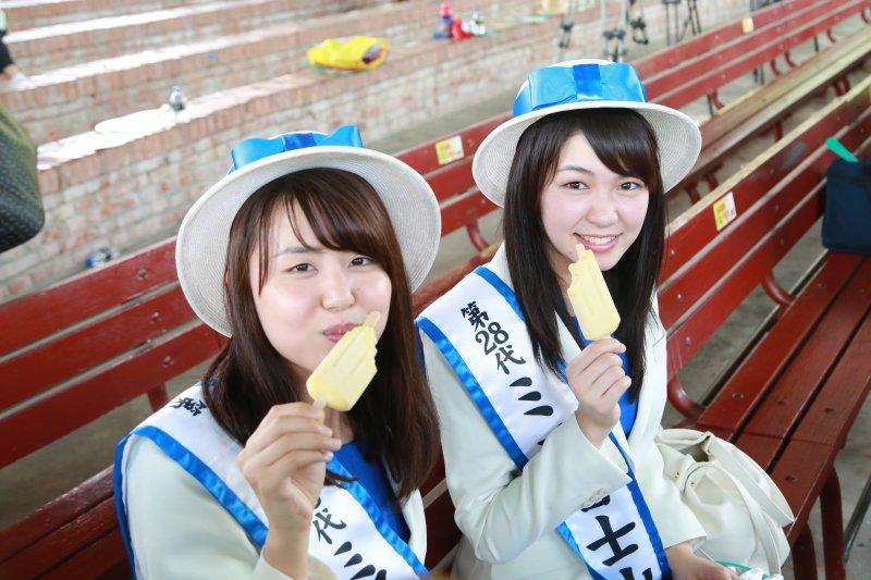 日本外賓率團前來參加臺南國際芒果節開幕。(圖/台南市政府提供)
