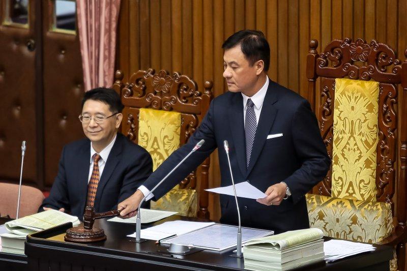 20170627-立法院27日三讀通過「公務人員退休資遣撫卹法」。(顏麟宇攝)