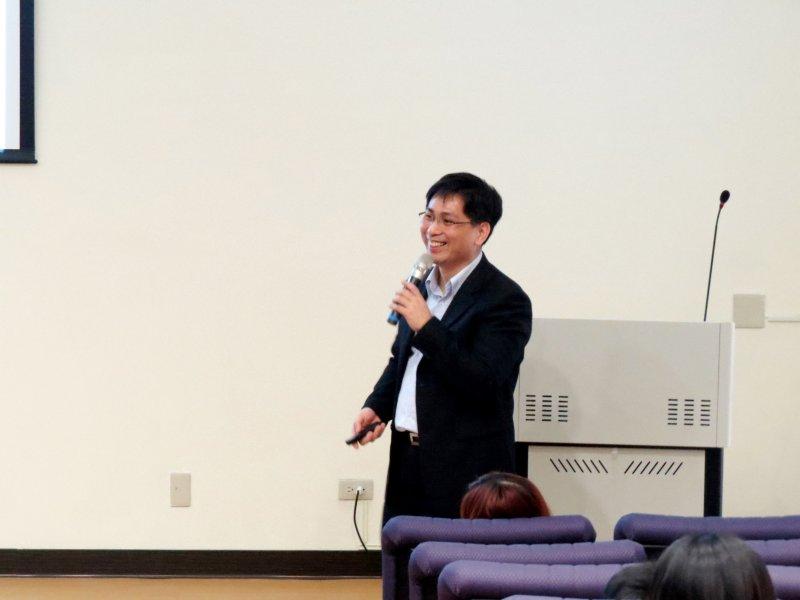 中華創業育成協會秘書長賴荃賢表示,從投資申請案件通過比率來看,中南部沒有比北部低。(取自台東大學網站)