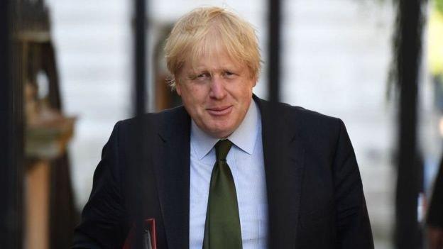 英國外交大臣約翰遜說,香港未來的成功將取決於《聯合聲明》保護的自由和人權。(BBC中文網)
