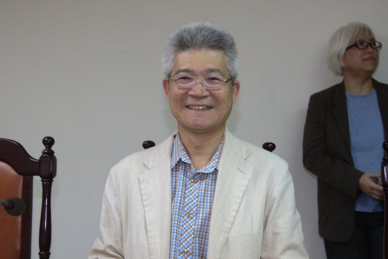 20170703-中央通訊社第8屆董事,中正大學傳播學系教授胡元輝(陳明仁攝)