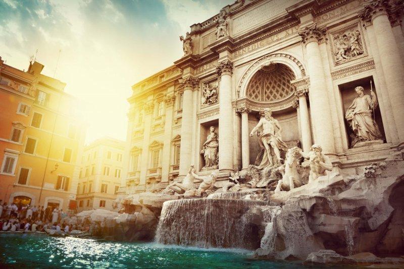 許願池Trevi Fountain。(圖/皇家國際運通旅行社提供)