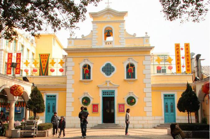 聖方劑各教堂(圖/澳門旅遊局提供)