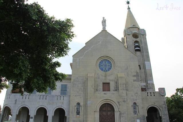 電影中的君好和初哥哥亦有不少在「主教山小堂」談天說地的場景。(圖/澳門旅遊局提供)
