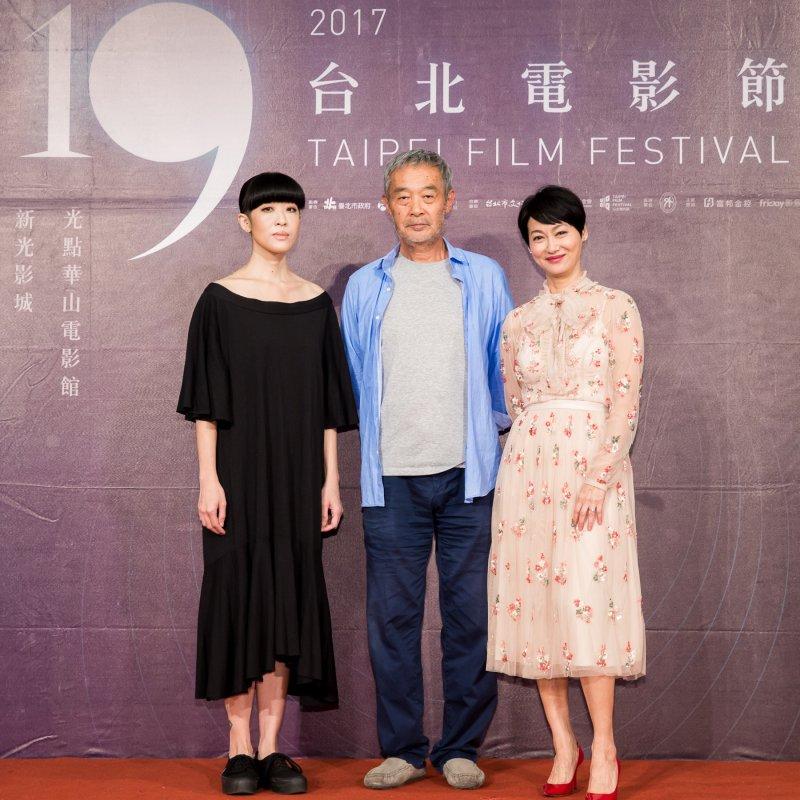 左起陳珊妮、田壯壯、惠英紅(圖/台北電影節提供)