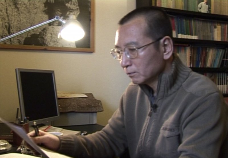中國異議作家、諾貝爾和平獎得主劉曉波健康時的模樣,攝於2008年1月(AP)