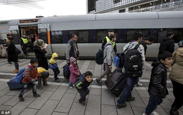 瑞典是許多中東難民與非洲難民的夢土(AP)
