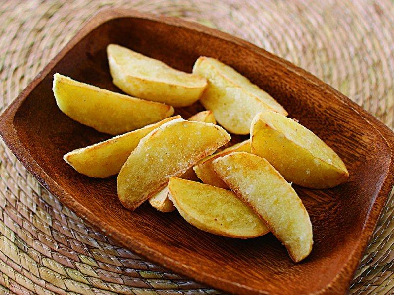 薯條口感的關鍵在於太白粉。(圖/凱特文化提供)