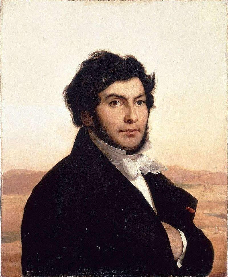 法國語言學家商博良。(Léon Cogniet @wikipedia/public domain)