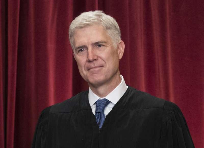 總統川普提名的保守派大法官葛薩奇。(美聯社)