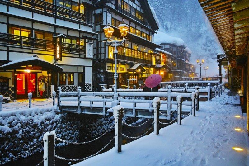 古時候的溫泉旅館需至少住宿1星期(圖/ZEKKEI Japan提供)