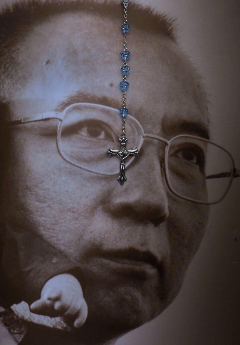 劉曉波自由工作組呼籲全球在頭七這天公祭劉曉波。(美聯社)