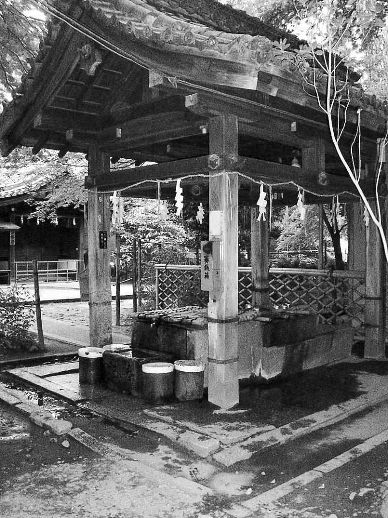 京都名水,染井(圖/時報出版提供)