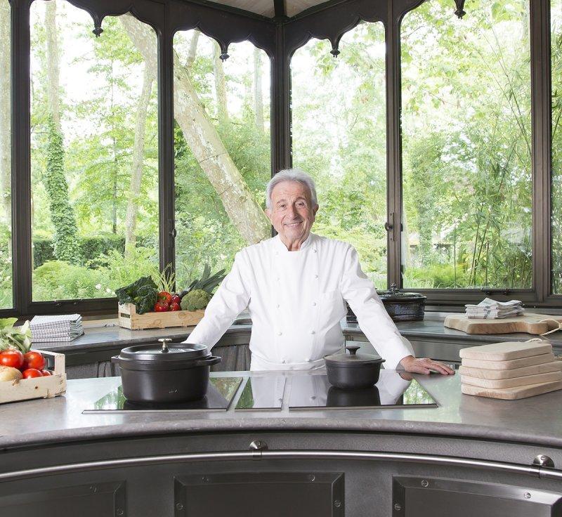 已經84歲的三星名廚米榭勒.葛哈 (Michel Guérard) ,他並非來自隆德區,但他的餐廳Les Prés d'Eugénie 位在隆德區.jpg