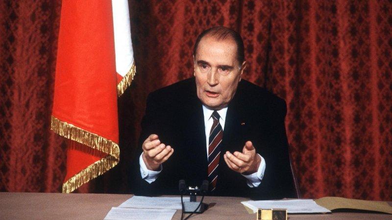 密特朗是第五共和時期第一位出自左翼社會黨的總統,也是任期最長的一位.JPG