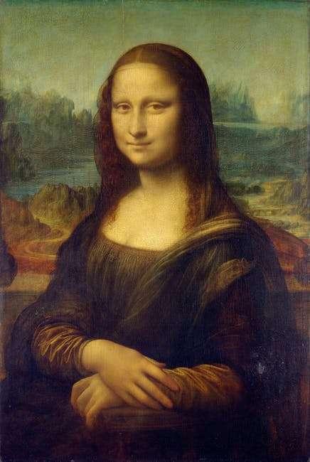 《蒙娜麗莎》是達文西之代表作。(圖/Pixabay)