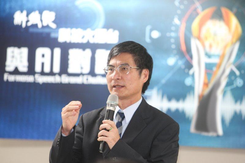 科技部長陳良基(陳明仁攝)