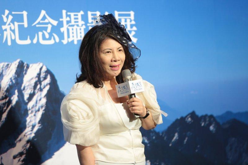 20170727-資深媒體人陳文茜27日出席「飛閱台灣-齊柏林紀念攝影展」開幕記者會。(顏麟宇攝)