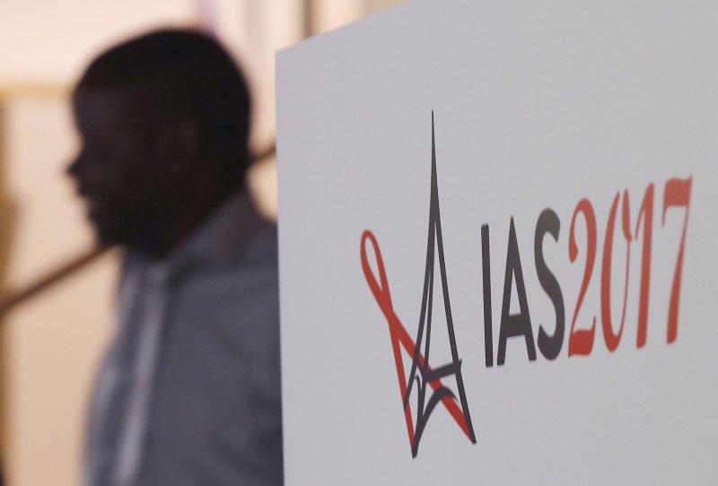 2017巴黎愛滋會議。(美聯社)