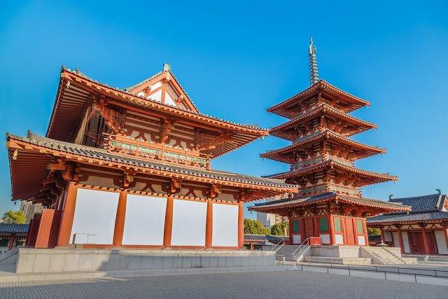 四天王寺(圖/shutterstock提供)